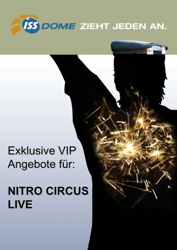 Exklusive VIP Angebote für: NITRO CIRCUS LIVE - ISS Dome