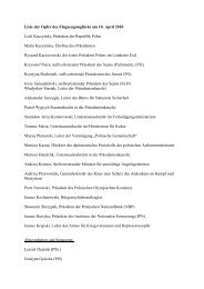 Liste der Opfer des Flugzeugunglücks am 10. April 2010 Lech ...