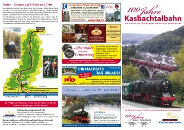 Kasbachtalbahn - Linz