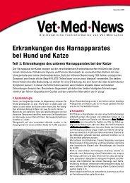 Informationsartikel-Vet-Med-Labor - Tiershop.de