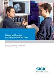 Service und Support Automatische Identifikation - Sick