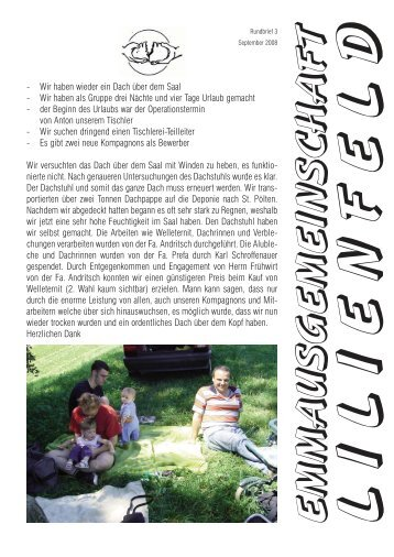 Rundbrief 3/2008 - Emmaus Lilienfeld