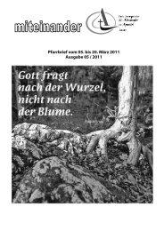 Pfarrbrief Nr. 2011-05 - Kath-Rastatt