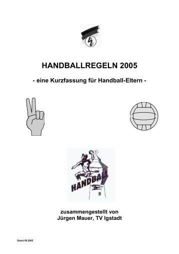 Handballregeln Pdf