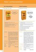 Fugenmassen - Racofix Bauchemie - Seite 4