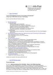 Infopost Oktober 2010 - KKV Bundesverband