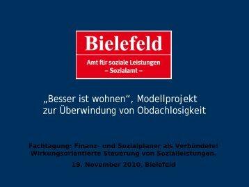 """""""Besser ist wohnen"""", Modellprojekt zur Überwindung von ..."""