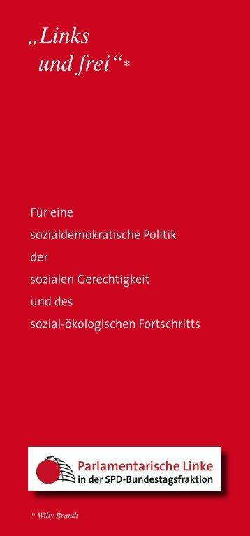 """""""Links und frei""""* - Carsten Sieling"""