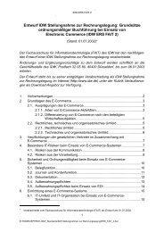 Entwurf IDW Stellungnahme zur Rechnungslegung: Grundsätze ...