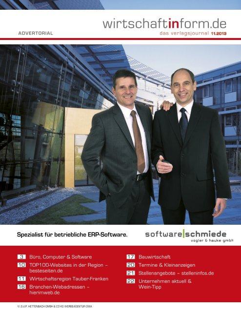 Büro, Computer & Software I wirtschaftinform.de 11.2013