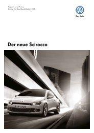 Der neue Scirocco - Autohaus Perski ohg