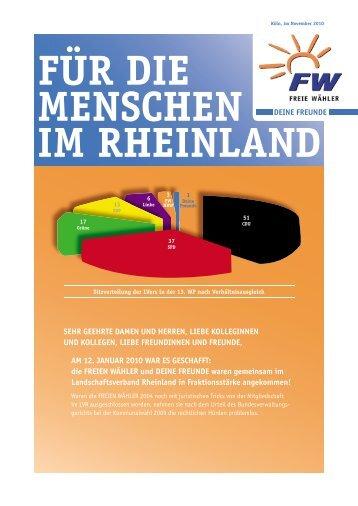Informationsbroschüre - Freie Wähler NRW Deine Freunde ...