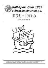 BSC-Sonderinfo mit aktueller Satzung im PDF ... - BSC-Flörsheim