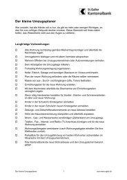Zügelplaner [PDF, 65.0 KB] - St. Margrethen