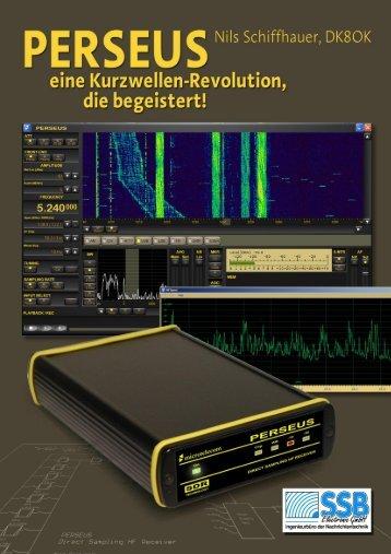 Perseus - eine Kurzwellen-Revolution, die begeistert! - SSB-Electronic