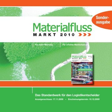 MARKT 2010 - materialfluss.de