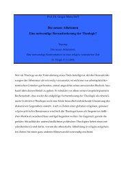 Die neuen Atheismen: Eine notwendige ... - St. Virgil Salzburg