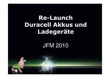 (Microsoft PowerPoint - Relaunch Ladeger\344te Duracell \(2 ...