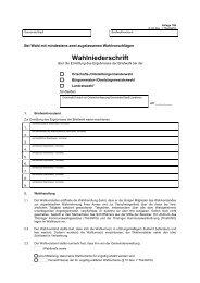 Anlage 19b - Wahlen in Thüringen