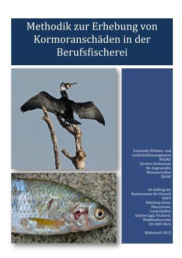 Methodik zur Erhebung von Kormoranschäden in der Berufsfischerei