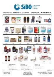 KOIFUTTER - WASSERPFLEGEMITTEL - BAKTERIEN ... - SIBO