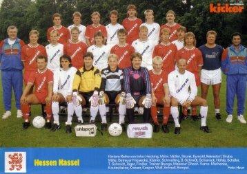 Mannschaftsfoto - KSV Hessen Kassel