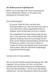 Referat von Oswald Sigg als PDF-Dokument - Medienkritik Schweiz