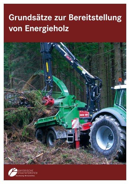 Energieholzbereitstellung zur ... - Bayerische Staatsforsten