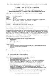 Initiative Bachelor studierbar machen im ... - Fachschaft 04