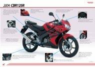 Motor sitzt als zentrales, tra- gendes Element im Brückenrahmen für ...