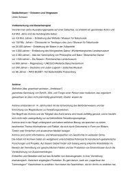 Erinnern und Vergessen - Universität der Künste Berlin