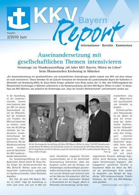 2010-2 KKV Bayern Report (pdf, 1 MB)