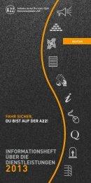 Dienstleistungen - Autostrada del Brennero