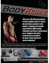 Custom Fabrication Private Labeling - Bodykore