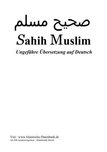 Sahih Muslim - Die Wahrheit im Herzen