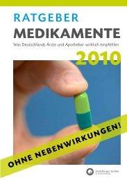 Auszug Ratgeber Medikamente - Kanzlei Dr. Elste