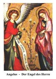 Angelus - Der Engel des Herrn