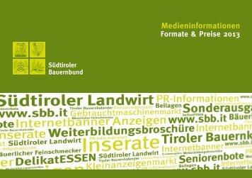 Medieninformationen - Südtiroler Bauernbund