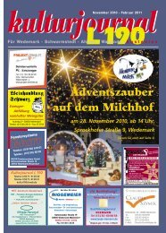 November/Februar 10/11 - Wedemark Journal und Kulturjournal190