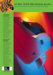 LP 2824 - LP/TLP 2844 Desktop Drucker - Dataphone AG