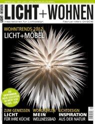 Licht und Wohnen 1/2012 - Less'n'more gmbh
