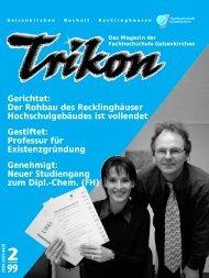 Ausgabe 2/1999 - TRIKON