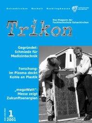 Ausgabe 1/2001 - TRIKON
