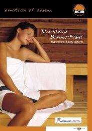 Die kleine Sauna-Fibel - Pool Doktor