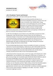 Die 4. Revolution - Energieagentur Oberfranken e.V.