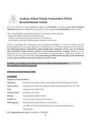 hBF Leitfaden Hausarbeit - Andreas-Albert-Schule