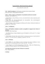 Programm für das Doktorandentreffen am 22.11.2012 in Frankfurt