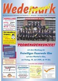 Promenadenkonzert - Wedemark Journal und Kulturjournal190