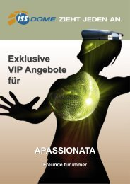 APASSIONATA - VIP Angebote - ISS Dome