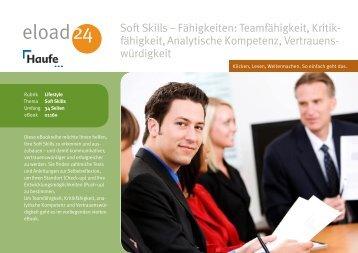 Fähigkeiten: Teamfähigkeit, Kritikfähigkeit, Analytische ... - Die Onleihe